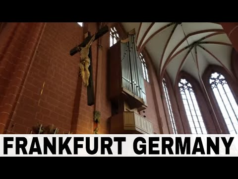 The Frankfurt Cathedral | Germany Vlog
