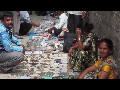 Street coin sellers of Bangalore