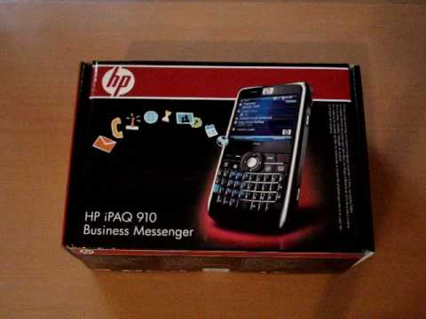 Video Unboxing - HP iPAQ 910 Business Messenger