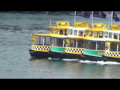Victoria B.C. Water Taxi Ballet