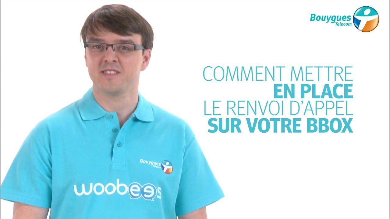 Comment Mettre En Place Le Renvoi D Appel Sur Bbox Youtube