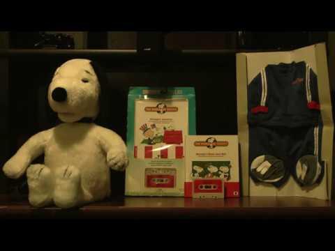 1986 Worlds Of Wonder Talking Snoopy Doll