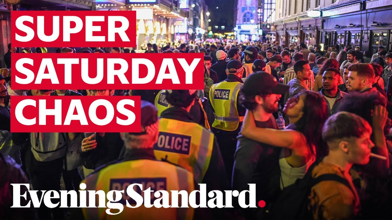Super Saturday revellers 'clearly unable to stick to social distancing rules'