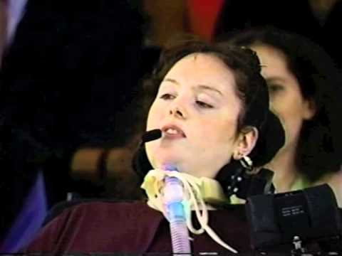 Brooke Ellison's Commencement Address at Harvard (June, 2000)