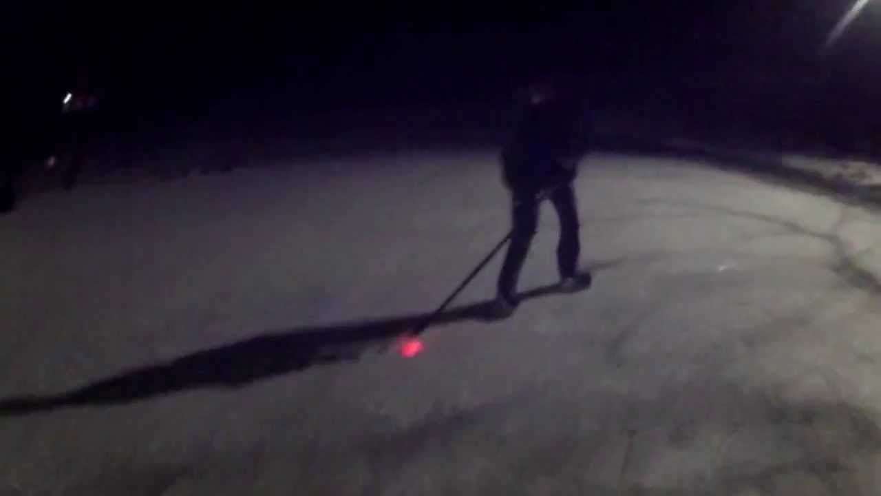 Backyard hockey rink the comet light up hockey puck youtube backyard hockey rink the comet light up hockey puck mozeypictures Images