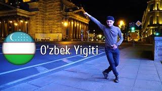 O'zbek Yigiti shaxarni markazida Lezginka o'ynadi