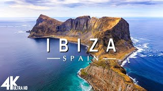 FLYING OVER IBIZA (4K UHD) - Relaxing Music Along With Beautiful Nature Videos - 4K Video Ultra HD