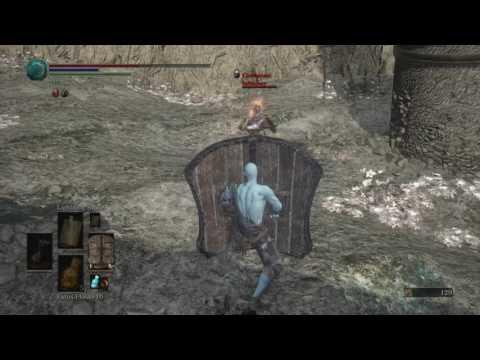 Dark Souls 3 knock-knock knocking Kratos door