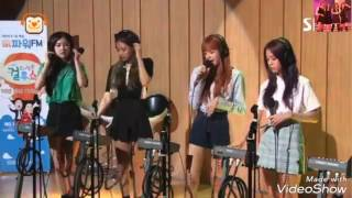 170706 BLACKPINK Live 'AS IF IT'S YOUR LAST' @ SBS Radio Cultwo Show  😘😘😍😍😊😊