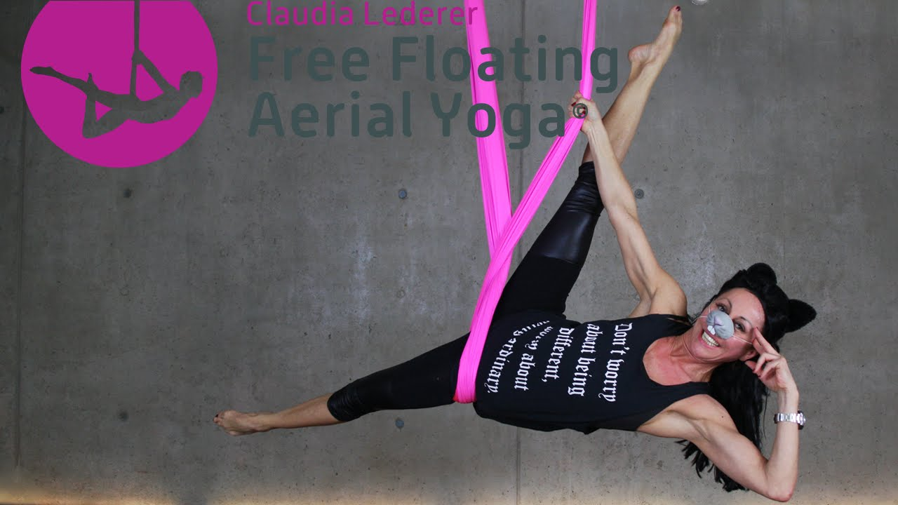 Free Floating Aerial Yoga Sequenz Karneval Swing Mit Claudia