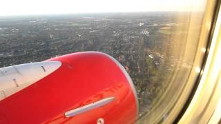 Air Berlin Boeing 737-700 HAM-DUS Takeoff Part 2/4