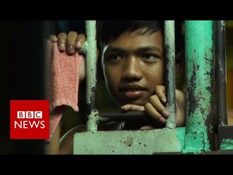 Inside Manila City Jail: One man's 16-year wait for his day in court - BBC News