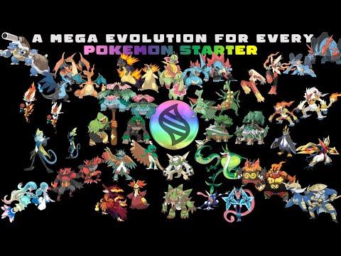 A Mega Evolution For Every Pokemon Starter