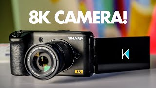 FIRST 8K AFFORDABLE CAMERA!!! CES 2019