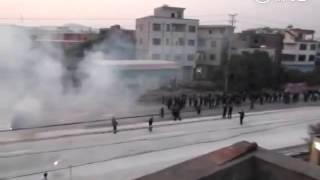 Firework War in China
