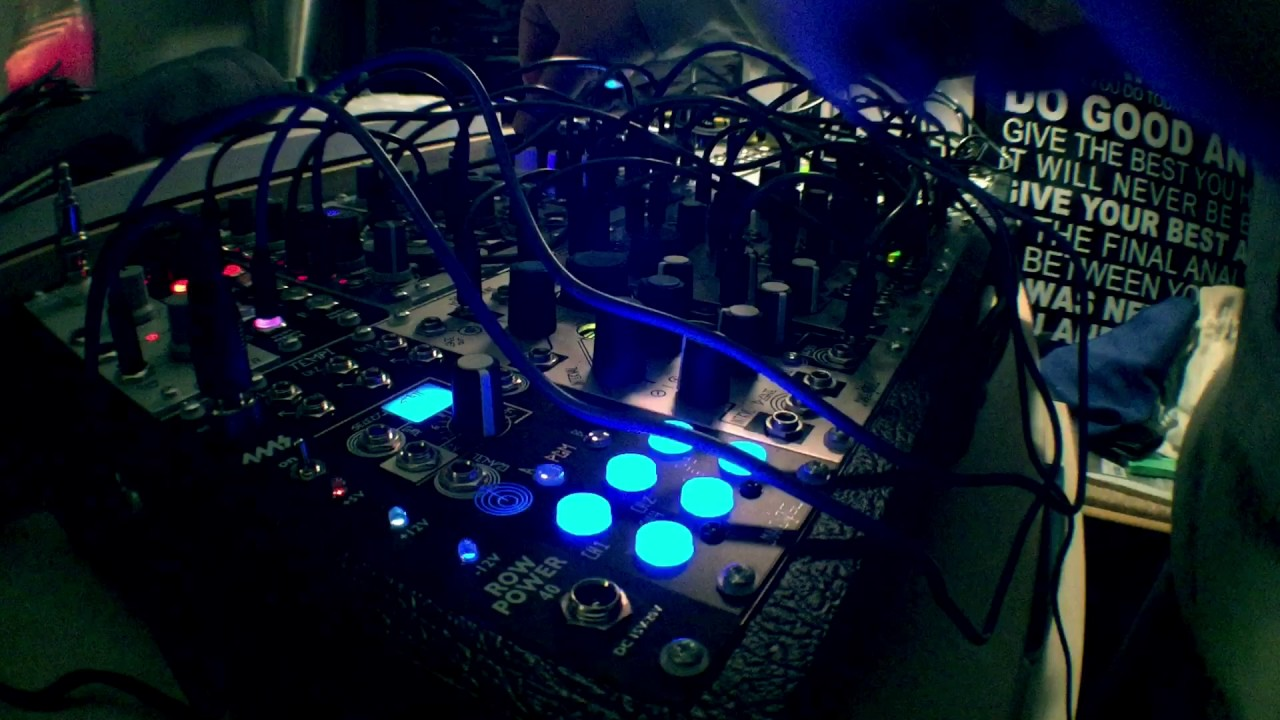 full moon transmissions eurorack modular synth performance youtube. Black Bedroom Furniture Sets. Home Design Ideas