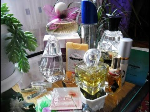 Моя коллекция парфюмов (Givenchy, Avon, Oriflame, Missoni, Y