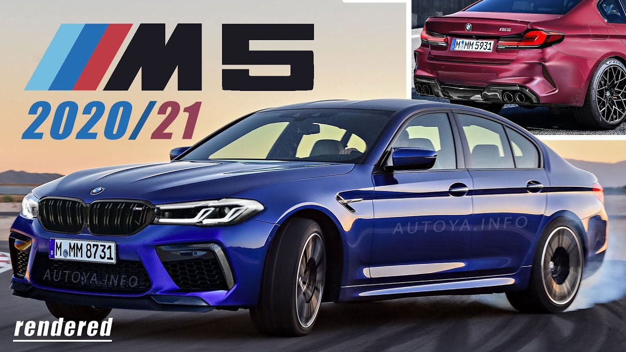 BMW M5 2020 Facelift and 2021 BMW M5 F90 Competition LCI ...