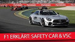 Formel-1-Regeln erklärt: So funktionieren Safety Car & Virtual Safety Car