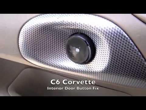 C6 Corvette Door Problem And Fix (Interior)   YouTube