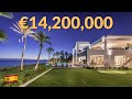 €14.2 Million Beachfront Luxury Villa