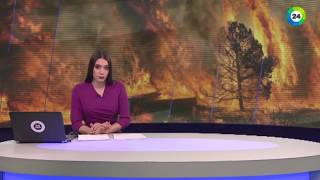 С природными пожарами в Сибири борется лесной десант - МИР24