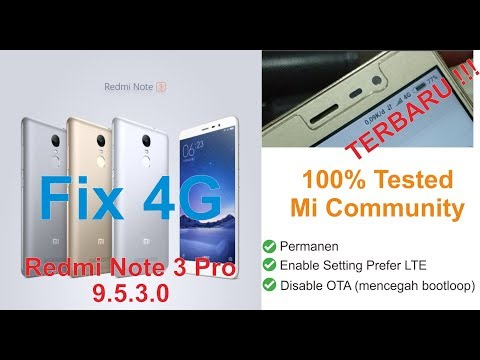 Fix 4G Redmi Note 3 Pro (Kenzo) Global Stable 9 5 3 0 [UBL ONLY