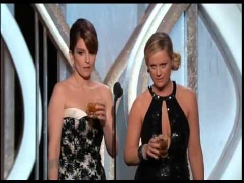 Glenn Close Drunk at the Golden Globes 2013!!