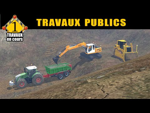 Farming simulator 15 / travaux publics  / by FT MODDING /épisode 1