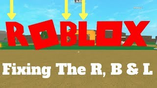 Fixing The Roblox Logo ( Lumber Tycoon 2) Roblox