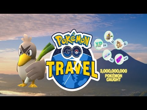 Download Youtube: Pokemon Go Travel: Global Catch Challenge - WE CAUGHT FARFETCH'D!!!