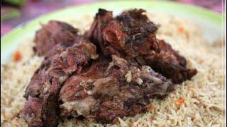 لا يحلى العيد إلا بالشواء العماني/ الشواء العماني داخل القدرOmani Shuwa at home