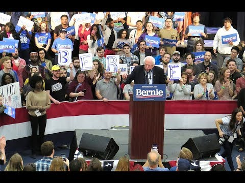 S.C. 2020: Sen. Bernie Sanders in North Charleston on March 14, 2019