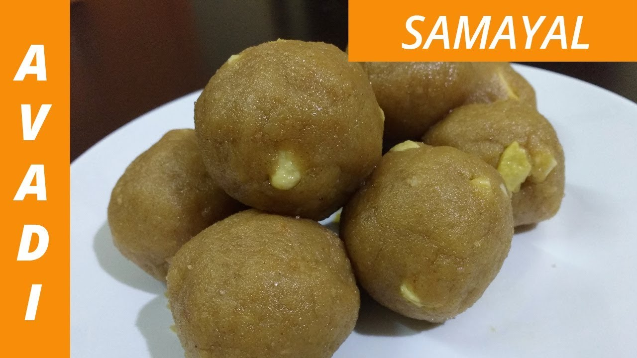 Wheat Sweet Laddu | கோதுமை லட்டு | Atta Laddu | Wheat Flour ladoo recipe in  tamil | eng subtitle