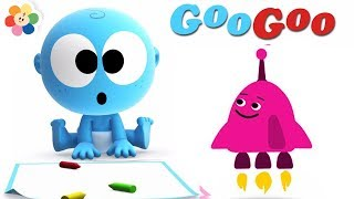 Learn Vehicles for Kids | Goo Goo The Pilot | Learn Colors with Laughing Baby