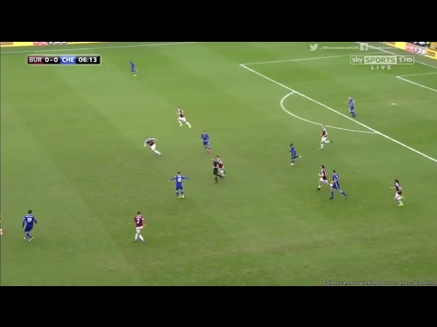 Burnley 1-1 Chelsea - Goals & Highlights - EPL 12 February 2017