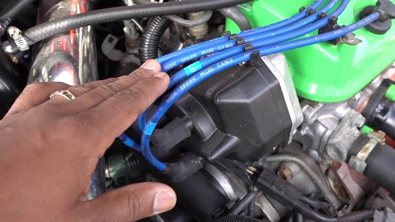 Honda Accord Distributor Firing Order F23A1 and F23A4  YouTube