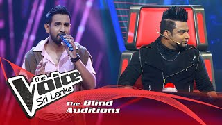 Sachithra Madusanka-Samjhawan | Blind Auditions | The Voice Sri Lanka Thumbnail