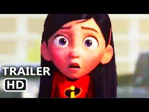 """INCREDIBLES 2 """"Violet is Awkward"""" Trailer (2018) Disney Pixar Movie HD"""