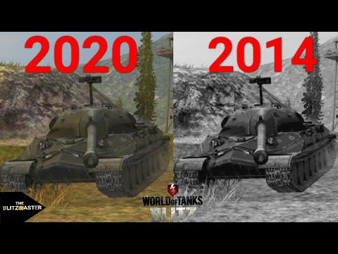 World Of Tanks Blitz Graphics Evolution 2014 - 2020