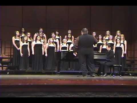 Airport Concert Choir contest 2013 at Northville High School