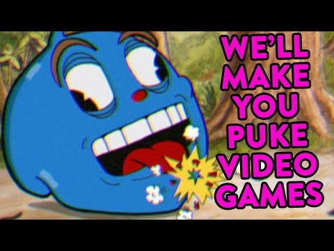 CUPHEAD INSANITY - Puking 1930's Fun