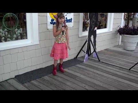 Megan Hickey Sings Carrie Underwood Undo It  At Kids Karaoke Barefoot Landing Myrtle Beach