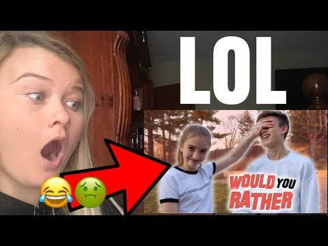 """JOHNNY & LAUREN ORLANDO """"WOULD YOU RATHER"""" **REACTION**"""