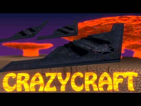 "Minecraft | CrazyCraft - OreSpawn Modded Survival Ep 49 - ""DAY OF THE NUCLEAR BOMB"""