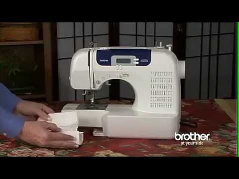 Brother CS40i Computerized Sewing Machine YouTube Gorgeous Brother Sewing Machine 6000i Manual