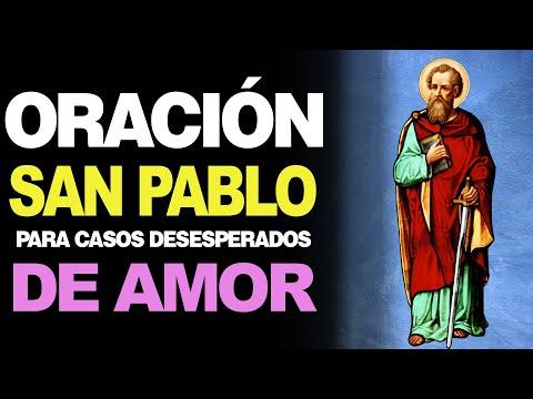 🙏 Oración a San Pablo para CASOS DE AMOR Desesperados 💖