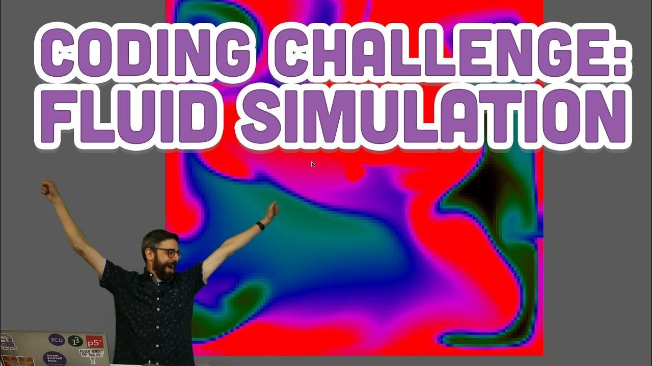 Coding Challenge #132: Fluid Simulation