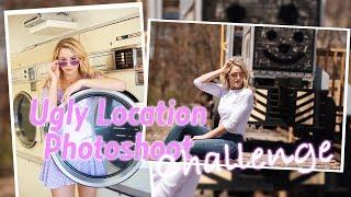 Ugly Location Photoshoot Challenge | Chloe Lukasiak