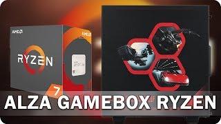 Alza GameBox Ryzen: Výborný pro hry, skvělý pro práci! - AlzaTech #558